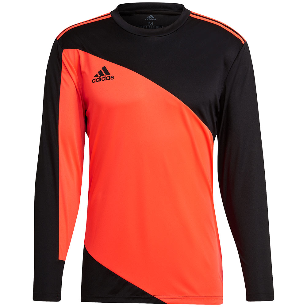 GK9805 adidas SQUAD 21 GoalKeeper Jersey black/solar red - Just Keepers