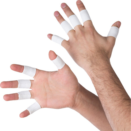 Keeper ID Goalkeeper Elastic Finger Wraps