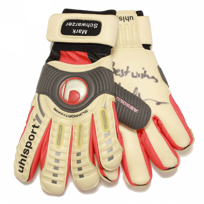 Uhlsport 0520 MARK SCHWARZER SIGNED