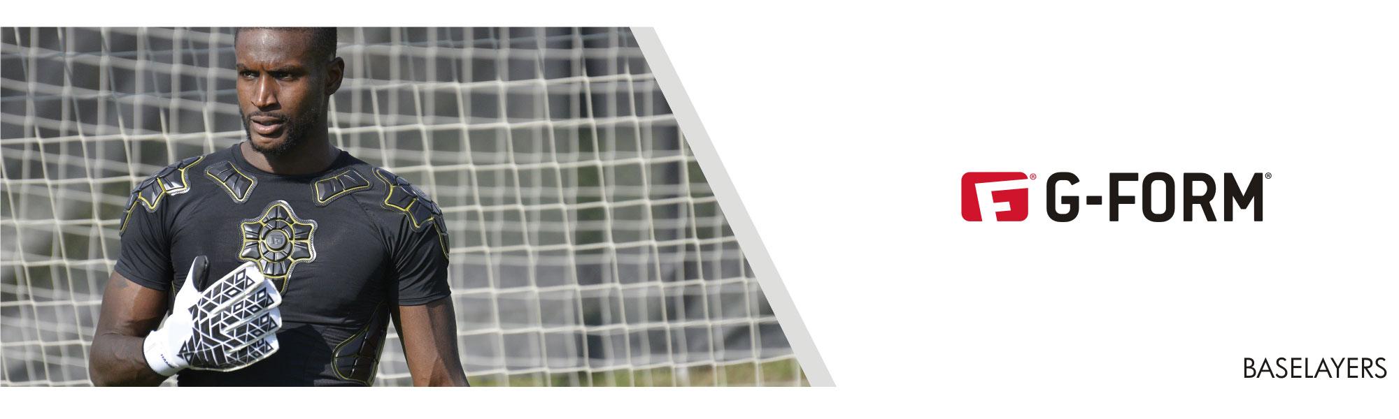 G-Form padded goalkeeper base layer shirt